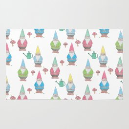 Garden Gnomes Rug