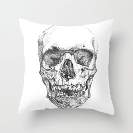 work & obey Throw Pillow
