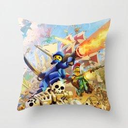 BrikWars! Throw Pillow