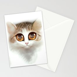 Kitten 2 Stationery Cards