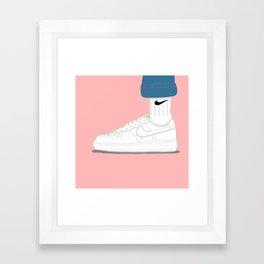 Uptown Framed Art Print