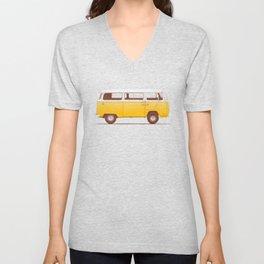 Van - Yellow Unisex V-Neck