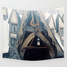The Three Broomsticks Wall Tapestry
