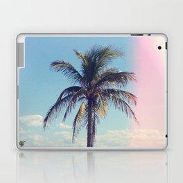 Palm Tree Light Leak Color Nature Photography Laptop & iPad Skin
