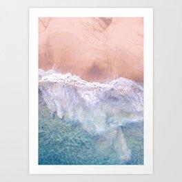 Coast 4 Art Print