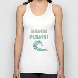 Crystal Clear  Unisex Tank Top