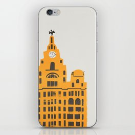 Liver Building Liverpool iPhone Skin