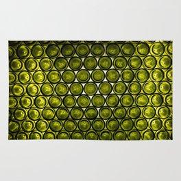 bottle tops pattern Rug