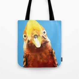 PEEK A BOO BIRD Tote Bag