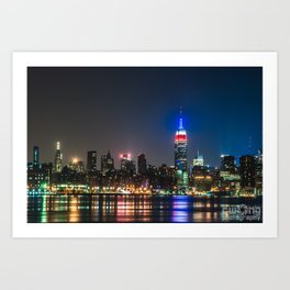 The place where everyone wants to be Art Print