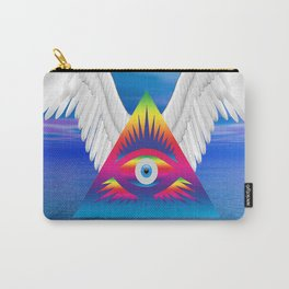 Third Eye with Wings Carry-All Pouch