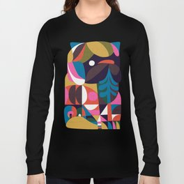 Nordic Pug Long Sleeve T-shirt