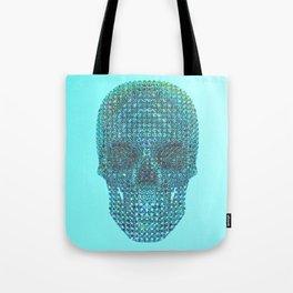 Diamond Skull [Front] Tote Bag