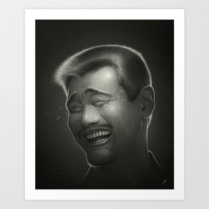 Yao Ming Art Print