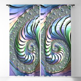 Colorful Spiral Blackout Curtain