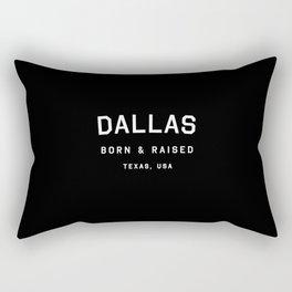 Dallas - TX, USA (Arc) Rectangular Pillow