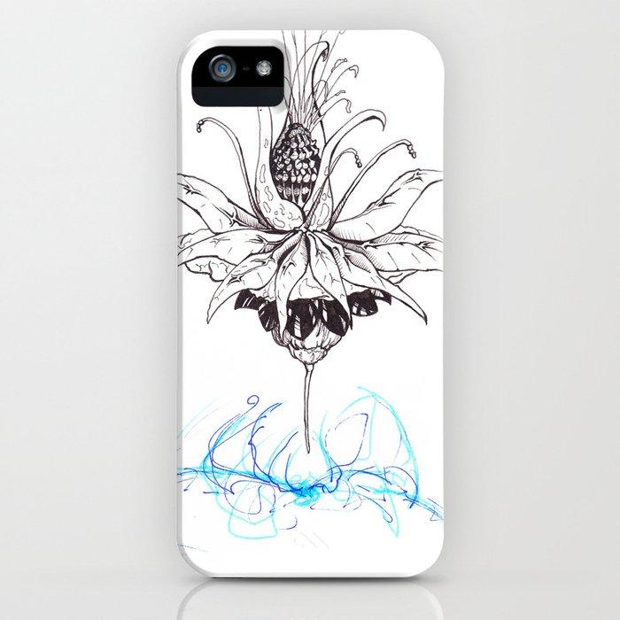 Pineapple Flower iPhone Case