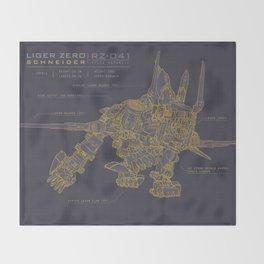 Zoids: Liger Zero Schneider Throw Blanket