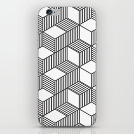 Geometric Cube 01 iPhone Skin