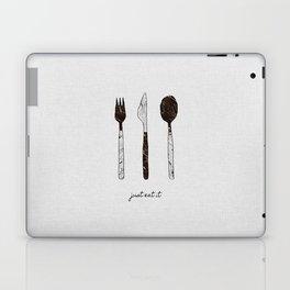 Just Eat It Laptop & iPad Skin