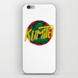 Kumite! iPhone Skin