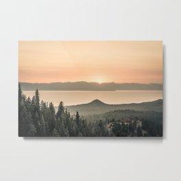 Lake View Metal Print