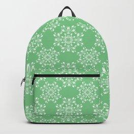 Sage Green Spring Lace Backpack