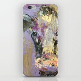 Colorful Cow iPhone Skin