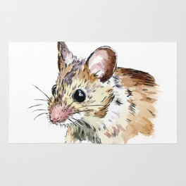 Little Brown Mouse Rug