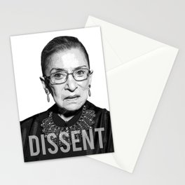 Ruth Bader Ginsburg DISSENT Collar RBG Stationery Cards