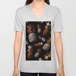 pineapples Unisex V-Neck