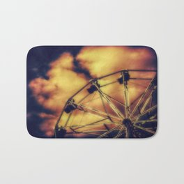 THE WHEEL Bath Mat