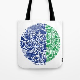 Save Our 70 Tote Bag