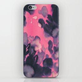 watercolor waves COLLAB DYLAN SILVA iPhone Skin