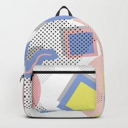 Memphis Geometric Pattern Backpack