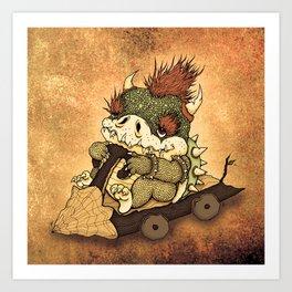 The First Kart  Art Print