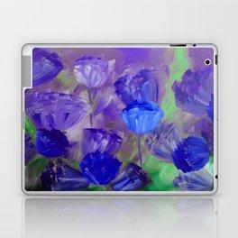 Breaking Dawn in Shades of Deep Blue and Purple Laptop & iPad Skin
