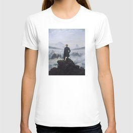 Wanderer Above the Sea of Fog T-shirt
