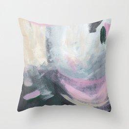 Bubblegum Sky Throw Pillow