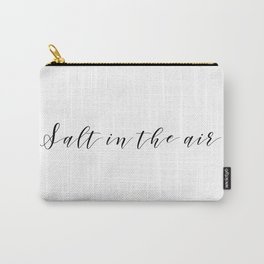 Salt in the Air Carry-All Pouch