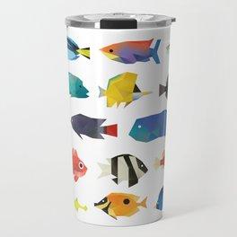 Tropical Fish chart Travel Mug