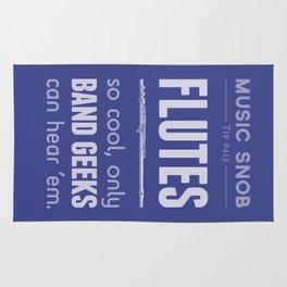 Flutes — Music Snob Tip #413 Rug