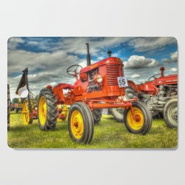 Red Tractor Cutting Board