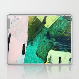 Hopeful[4] - a bright mixed media abstract piece Laptop & iPad Skin