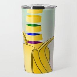 Gay Pride Banana Travel Mug