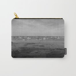 From the Shore - Plymouth Massachusetts Shoreline Carry-All Pouch