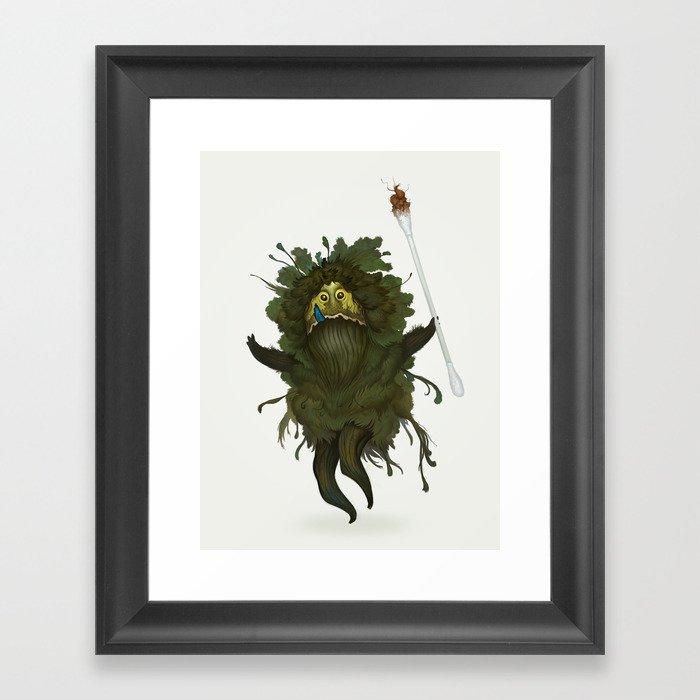 King Kawak Framed Art Print