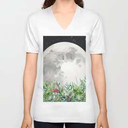 Night Garden Magick Unisex V-Neck
