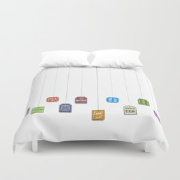 c[_] I love tea c[_] Duvet Cover