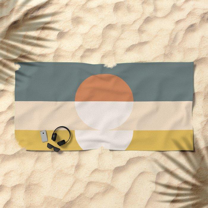 Abstract 02 Beach Towel